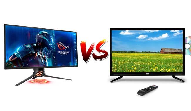 TV atau Monitor Untuk Gaming