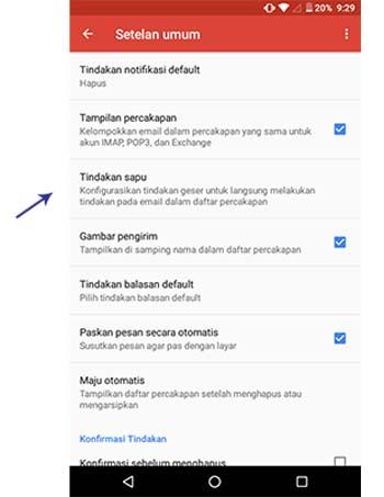 Ikuti Kami Gmail Luncurkan Fitur Swipe
