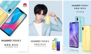 Spesifikasi Huawei Nova 3