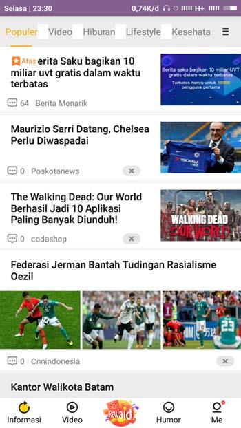 aplikasi Baca berita