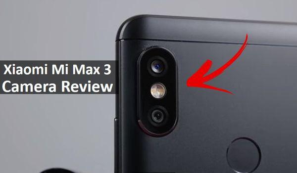 Kamera Xiaomi Mi Max 3
