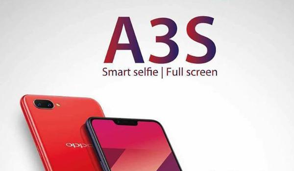 Kamera Oppo A3S