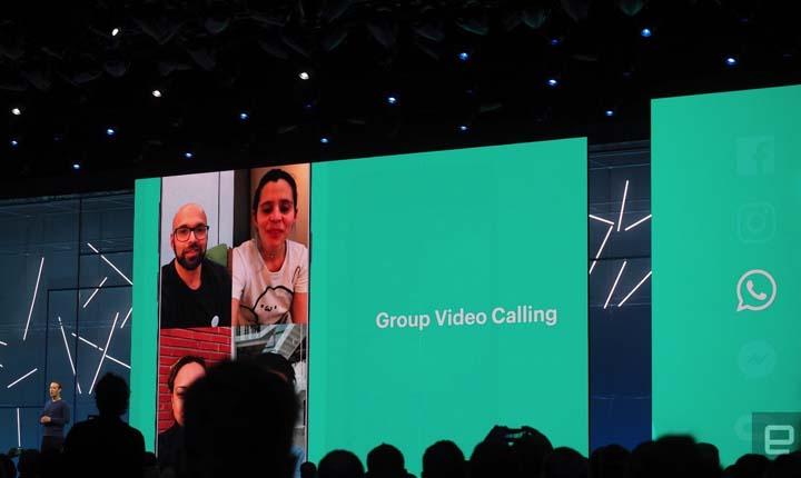 panggilan video group WhatsApp