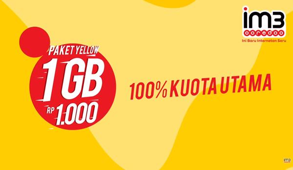 paket internet indosat juli 2018