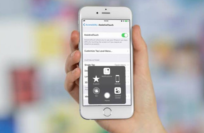 Tombol Home iPhone Macet