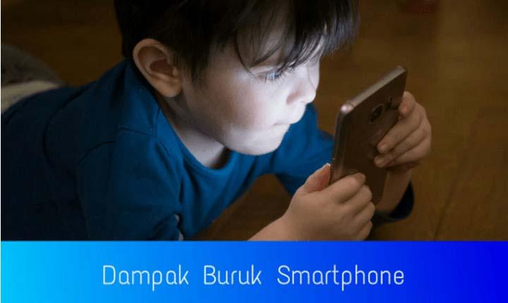 Dampak buruk smartphone dan teknologi