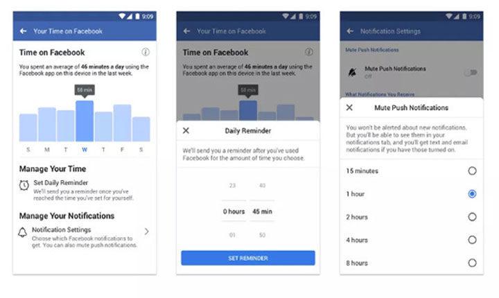 Fitur baru untuk Membatasi Waktu facebook