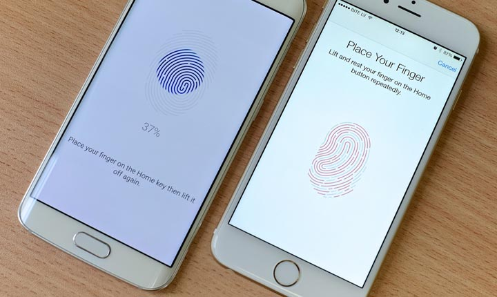 Membuat Sensor Fingerprint Smartphone