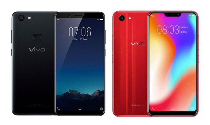 Smartphone Vivo dengan RAM 4 GB