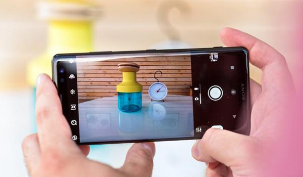 Kamera Sony Xperia XZ3