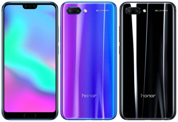 Spesifikasi Honor 10