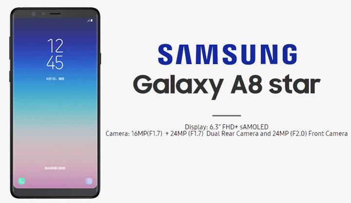 Spesifikasi Samsung Galaxy A8 Star
