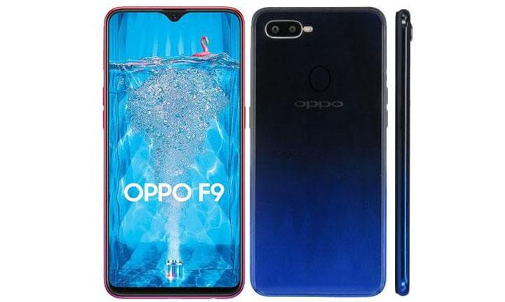 Spesifikasi dan harga Oppo F9'