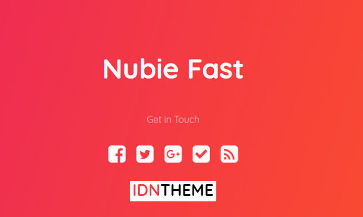 Template Blogger Nubie Fast
