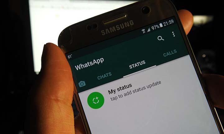 WhatsApp hapus data pengguna