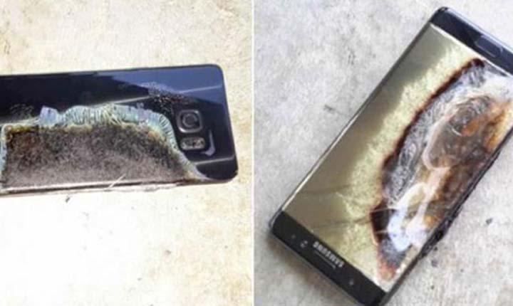 Galaxy Note 9 Terbakar