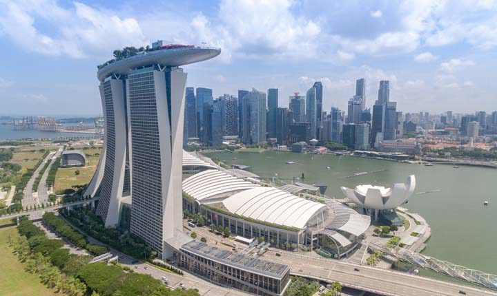 kota teknologi asia singapura