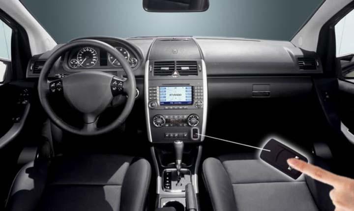 Mobil dengan fitur fingerprint