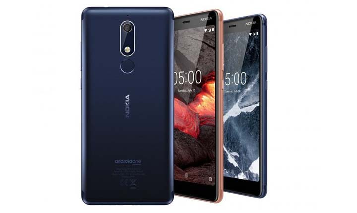 Smartphone Android Nokia 1 jutaan