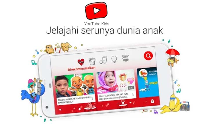 aplikasi youtube kids