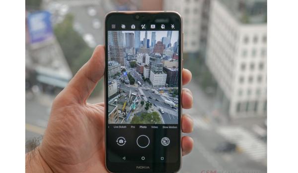 Kamera Nokia 7.1