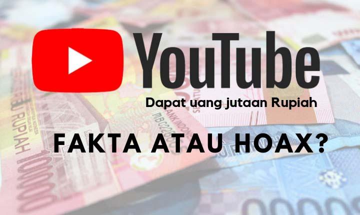 mendapatkan puluhan juta dari youtube