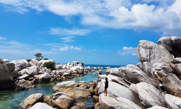 Wisata Pantai Geopark Belitung