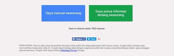 Person Finder Google