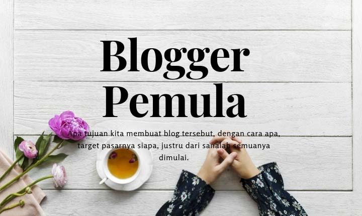 Blogger pemula indonesia