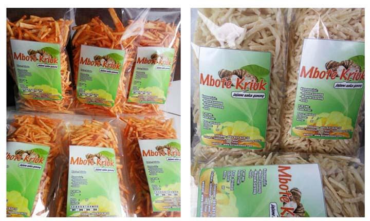 Produsen Dan Distributor Resmi Keripik Talas Mbote Kriuk Aneka Rasa