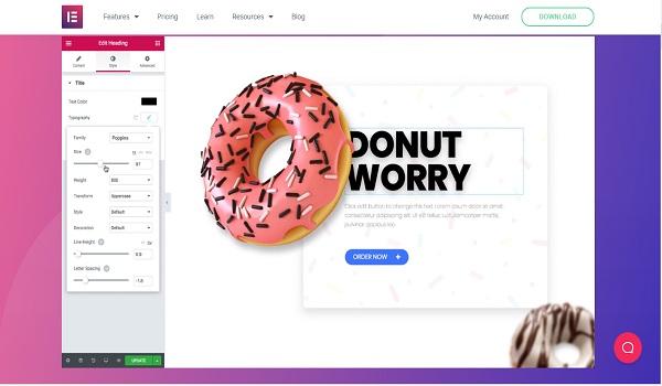 Elementor plugin page builder terbaik untuk wordpress