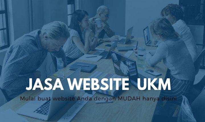 Jasa website ukm