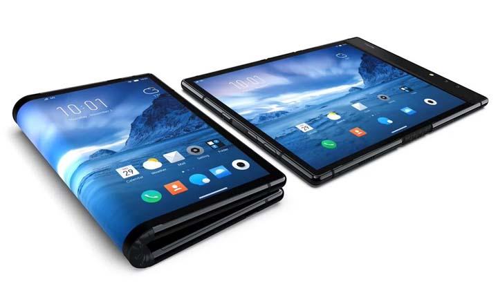 smartphone layar lipat