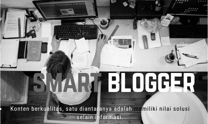 konsep blogger sukses