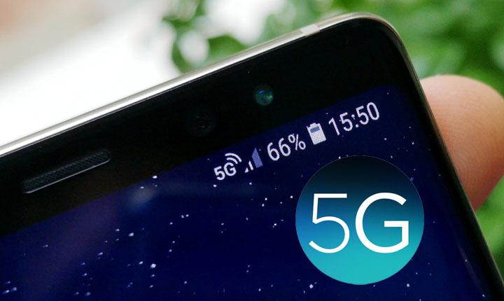 ponsel jaringan 5 G