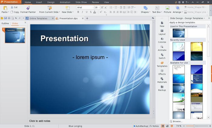 Software Pembuat Slide Presentasi