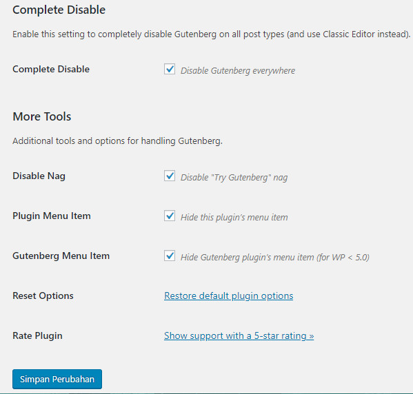 Post Editor Versi baru di WordPress