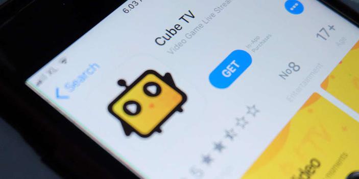 Aplikasi Cube TV