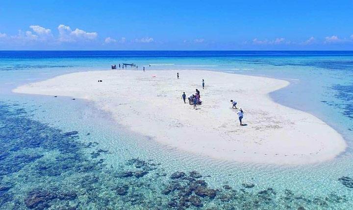 Pasir Timbul Pulau Nain