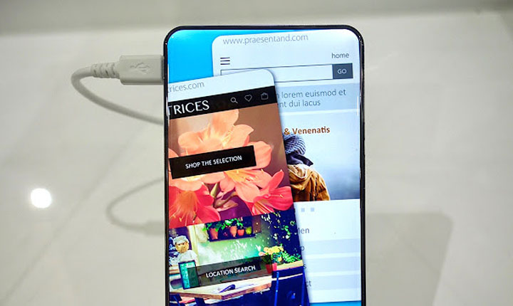 Smartphone dengan Bezel Tipis termurah