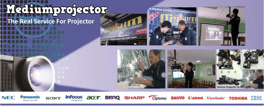 Jasa service projector Profesional bergaransi