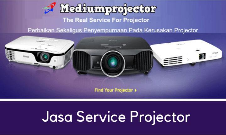 Jasa service projector bergaransi murah