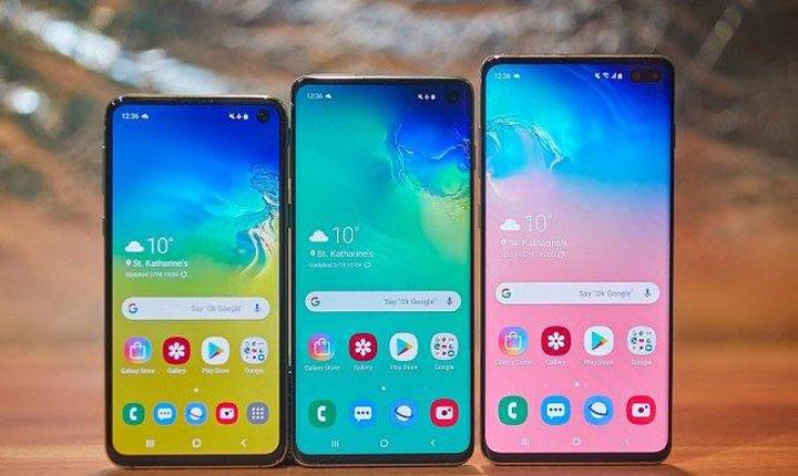 Trio Samsung Galaxy S10