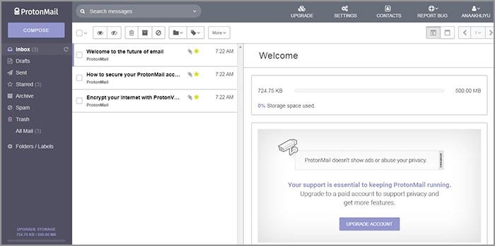 cara kirim email terenkripsi