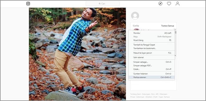Membuat Story Instagram Melalui PC atau Laptop Mudah Banget