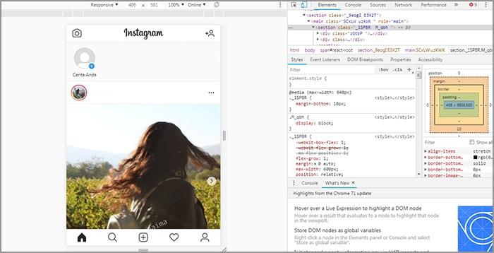 Begini Cara Membuat Story Instagram Melalui PC atau Laptop