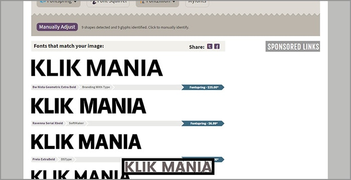 cara mengidentifikasi font pada gambar