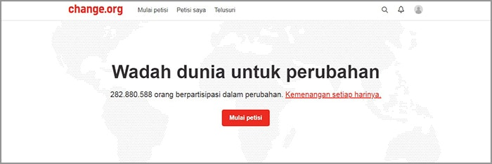 membuat petisi online itu mudah