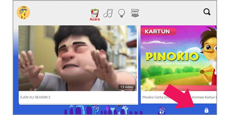 pembahasan panduan menggunakan youtube kids
