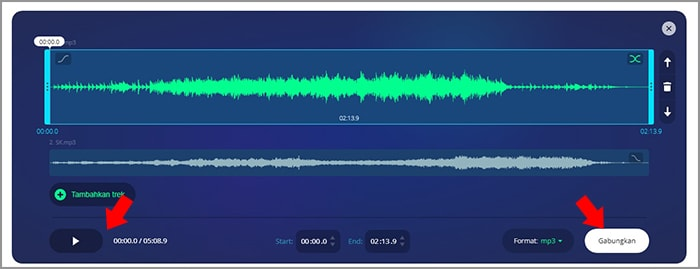 menggabungkan audio3